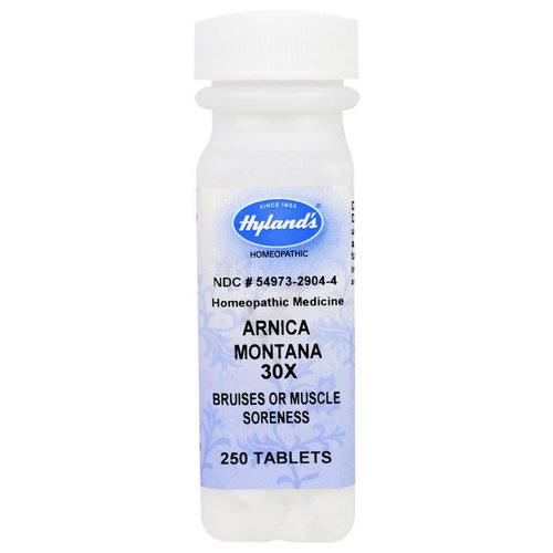 Hyland's, Arnica Montana 30X, 250 Tablets فوائد