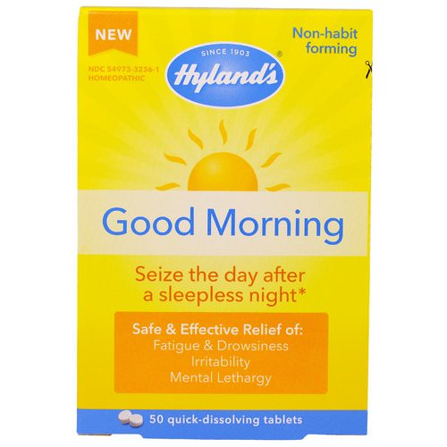 Hyland's, Good Morning, 50 Quick-Dissolving Tablets فوائد