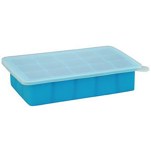 i play Inc, Green Sprouts, Fresh Baby Food Freezer Tray, Blue, 1 Tray, 15 Portions - 1 oz (28 ml) Each فوائد
