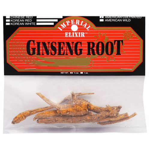 Imperial Elixir, Ginseng Root, American Cultivated, 1/2 oz فوائد
