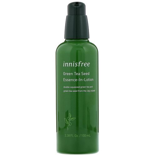 Innisfree, Green Tea Seed Essence-In-Lotion, 3.38 fl oz (100 ml) فوائد
