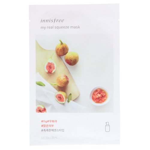 Innisfree, My Real Squeeze Mask, Fig, 1 Sheet فوائد