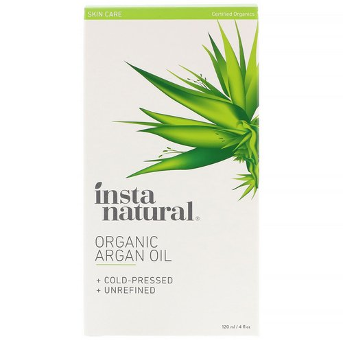 InstaNatural, Organic Argan Oil, 4 fl oz (120 ml) فوائد