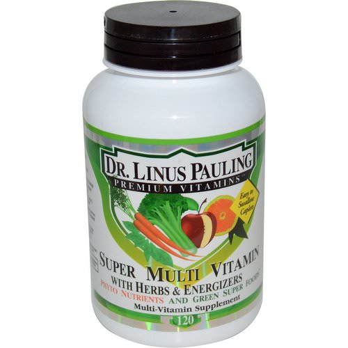 Irwin Naturals, Dr. Linus Pauling, Super Multi Vitamin, with Herbs & Energizers, 120 Caplets فوائد