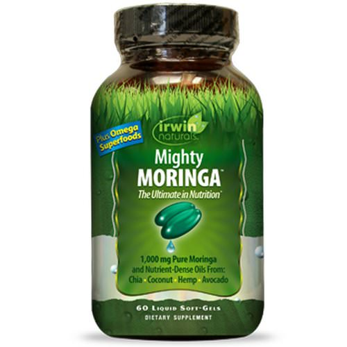 Irwin Naturals, Mighty Moringa, 60 Liquid Soft-Gels فوائد