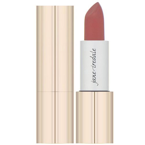 Jane Iredale, Triple Luxe, Long Lasting Naturally Moist Lipstick, Jackie, .12 oz (3.4 g) فوائد