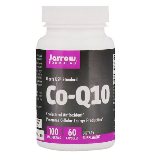 Jarrow Formulas, Co-Q10, 100 mg, 60 Capsules فوائد