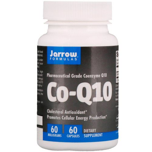 Jarrow Formulas, Co-Q10, 60 mg, 60 Capsules فوائد