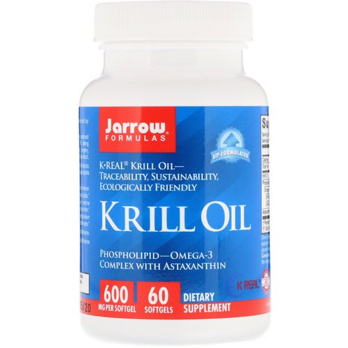 Jarrow Formulas, Krill Oil, 60 Softgels فوائد