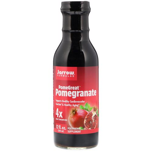 Jarrow Formulas, PomeGreat Pomegranate, 12 fl oz (360 ml) فوائد