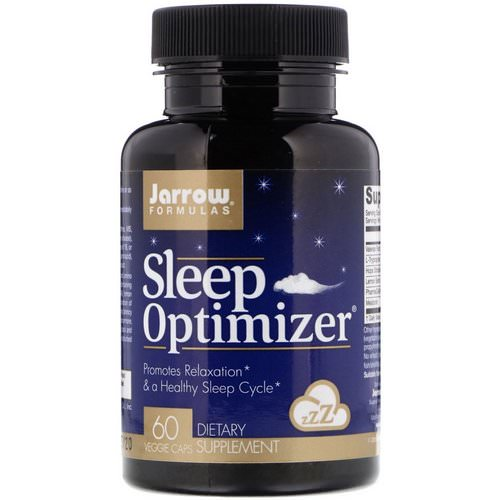 Jarrow Formulas, Sleep Optimizer, 60 Veggie Caps فوائد