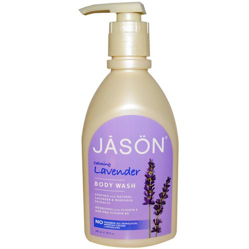 Jason Natural, Body Wash, Calming Lavender, 30 fl oz (887 ml) فوائد