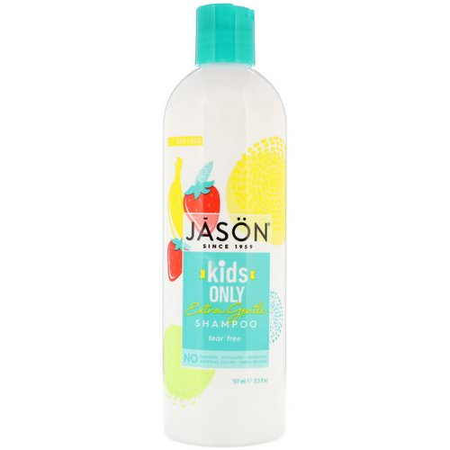 Jason Natural, Kids Only, Extra Gentle Shampoo, 17.5 fl oz (517 ml) فوائد