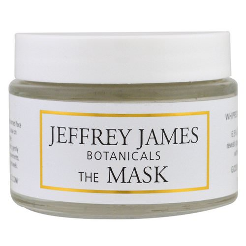 Jeffrey James Botanicals, The Mask, Whipped Raspberry Mud Mask, 2.0 oz (59 ml) فوائد