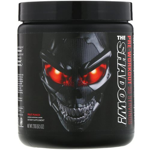 JNX Sports, The Shadow, Pre-Workout, Fruit Punch, 9.5 oz (270 g) فوائد