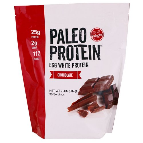 Julian Bakery, Paleo Protein, Egg White Protein, Chocolate, 2 lbs (907 g) فوائد