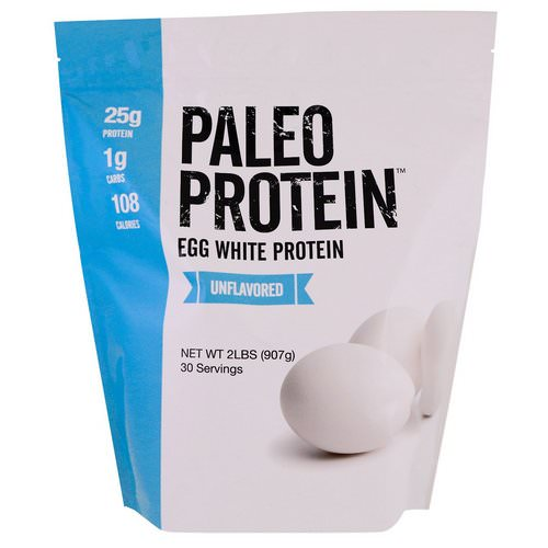 Julian Bakery, Paleo Protein, Egg White Protein, Unflavored, 2 lbs (907 g) فوائد