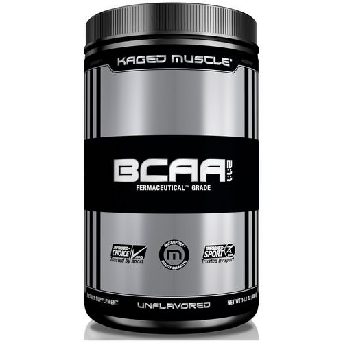 Kaged Muscle, BCAA 2:1:1, Unflavored, 14.1 oz (400 g) فوائد