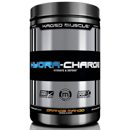 Kaged Muscle, Hydra Charge, Orange Mango, 9.73 oz (276 g) فوائد