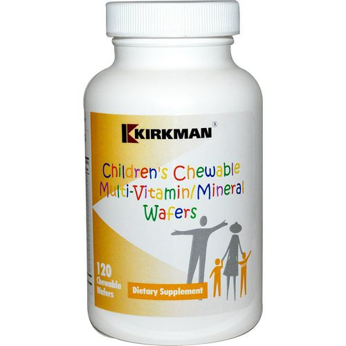 Kirkman Labs, Children's Chewable Multi-Vitamin/Mineral Wafers, 120 Chewable Wafers فوائد