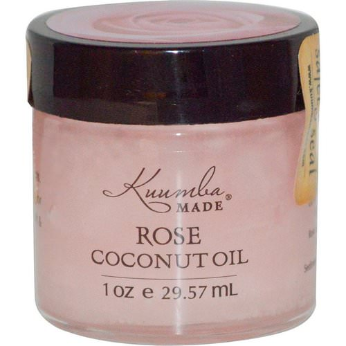 Kuumba Made, Rose Coconut Oil, 1 oz (29.57 ml) فوائد