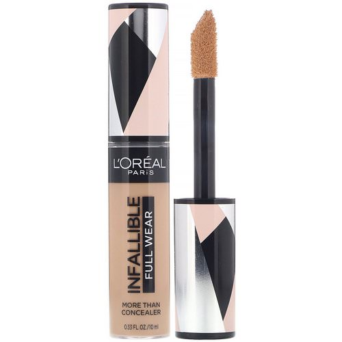 L'Oreal, Infallible Full Wear More Than Concealer, 370 Biscuit, 0.33 fl oz (10 ml) فوائد