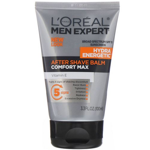 L'Oreal, Men Expert, After Shave Balm, Comfort Max, 3.3 fl oz (100 ml) فوائد