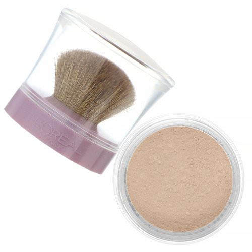 L'Oreal, True Match Mineral Foundation, C1-2/461 Natural Ivory, .35 oz (10 g) فوائد