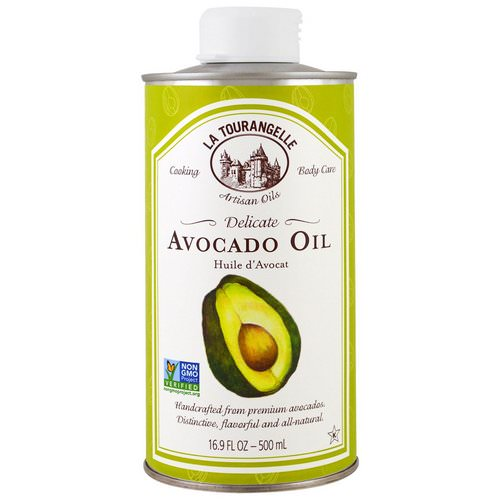 La Tourangelle, Delicate Avocado Oil, 16.9 fl oz (500 ml) فوائد
