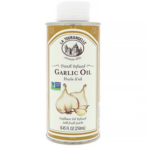 La Tourangelle, French Infused Garlic Oil, 8.45 fl oz (250 ml) فوائد