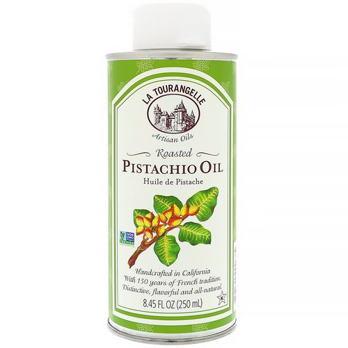 La Tourangelle, Roasted Pistachio Oil, 8.45 fl oz (250 ml) فوائد