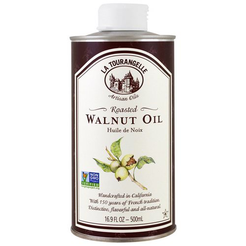 La Tourangelle, Roasted Walnut Oil, 16.9 fl oz (500 ml) فوائد