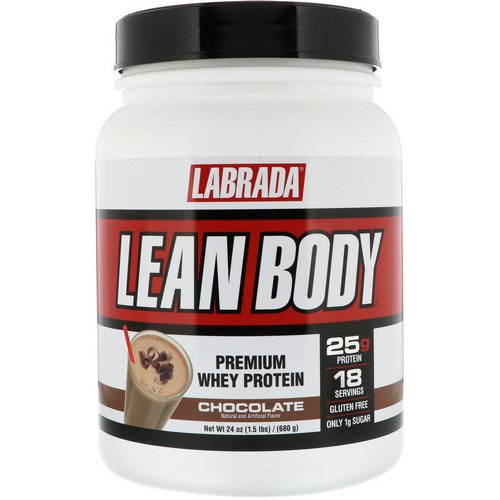 Labrada Nutrition, Lean Body, Premium Whey Protein, Chocolate, 1.5 lb (680 g) فوائد