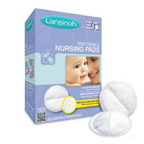 Lansinoh, Disposable Nursing Pads, 60 Individually Wrapped Pads فوائد