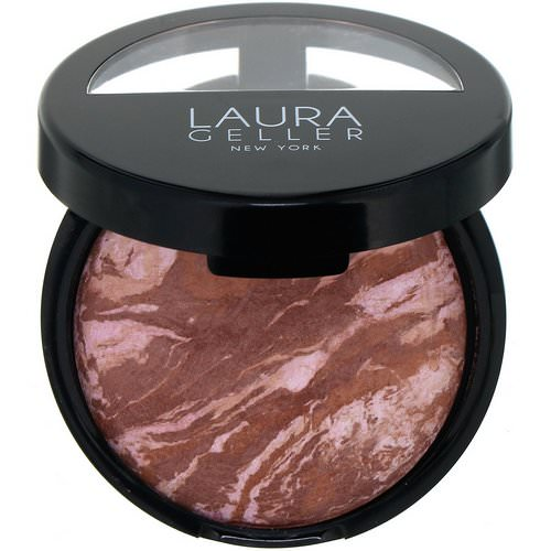 Laura Geller, Baked Bronze-N-Brighten, Fair, 0.32 oz (9 g) فوائد