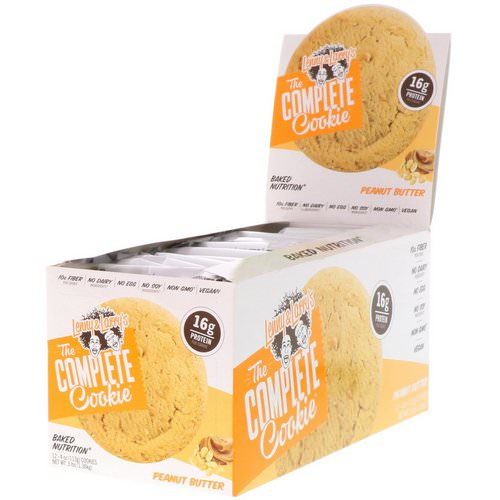 Lenny & Larry's, The Complete Cookie, Peanut Butter, 12 Cookies, 4 oz (113 g) Each فوائد