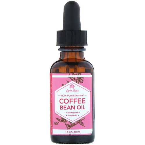 Leven Rose, 100% Pure & Natural, Coffee Bean Oil, 1 fl oz (30 ml) فوائد