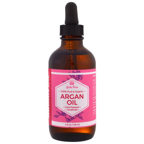 Leven Rose, 100% Pure & Organic Argan Oil, 4 fl oz (118 ml) فوائد