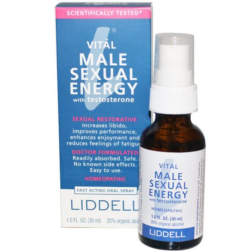 Liddell, Vital Male Sexual Energy with Testosterone, 1.0 fl oz (30 ml) فوائد