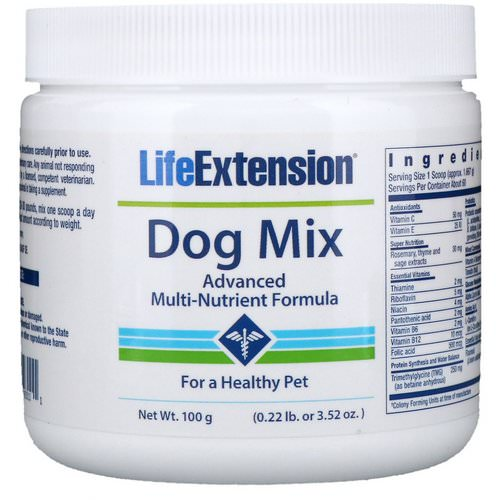 Life Extension, Dog Mix, 3.52 oz (100 g) فوائد