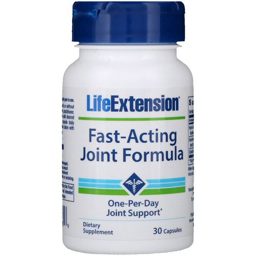 Life Extension, Fast-Acting Joint Formula, 30 Capsules فوائد