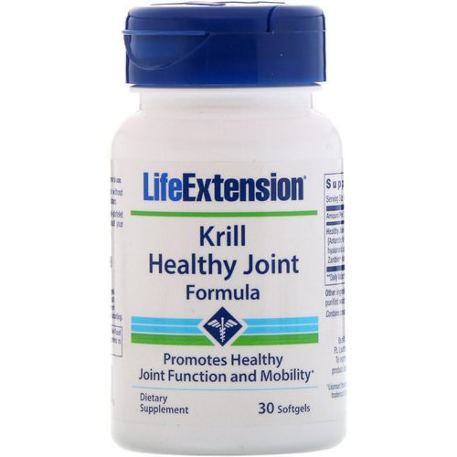 Life Extension, Krill Healthy Joint Formula, 30 Softgels فوائد