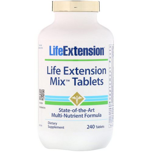 Life Extension, Mix Tablets, 240 Tablets فوائد
