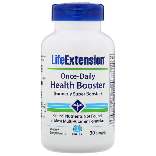 Life Extension, Once-Daily Health Booster, 30 Softgels فوائد