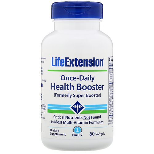 Life Extension, Once-Daily Health Booster, 60 Softgels فوائد