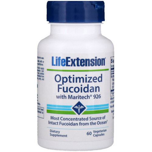 Life Extension, Optimized Fucoidan with Maritech 926, 60 Vegetarian Capsules فوائد