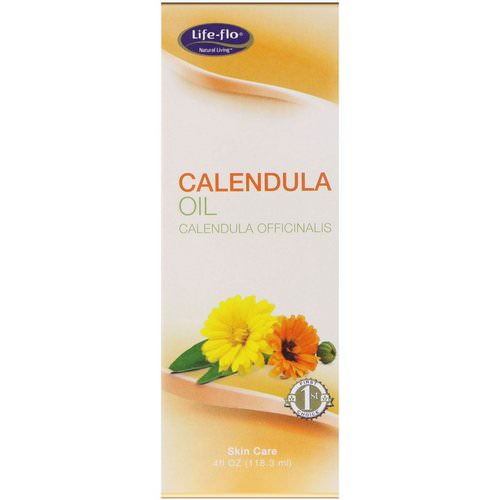 Life-flo, Calendula Oil, 4 fl oz (118.3 ml) فوائد