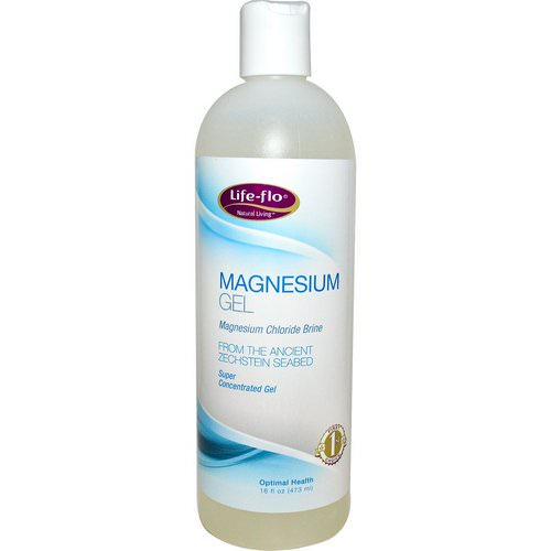 Life-flo, Magnesium Gel, 16 fl oz (473 ml) فوائد