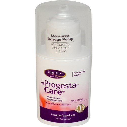 Life-flo, Progesta-Care, Body Cream, 2 oz (57 g) فوائد