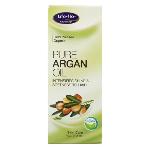 Life-flo, Pure Argan Oil, 4 oz (118 ml) فوائد